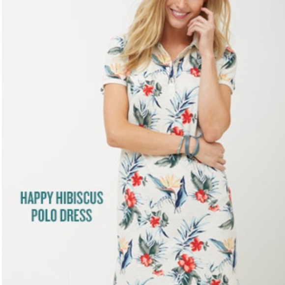 Tommy Bahama Dresses & Skirts - 💐HP💐 Tommy Bahama Happy Hibiscus Polo Dress